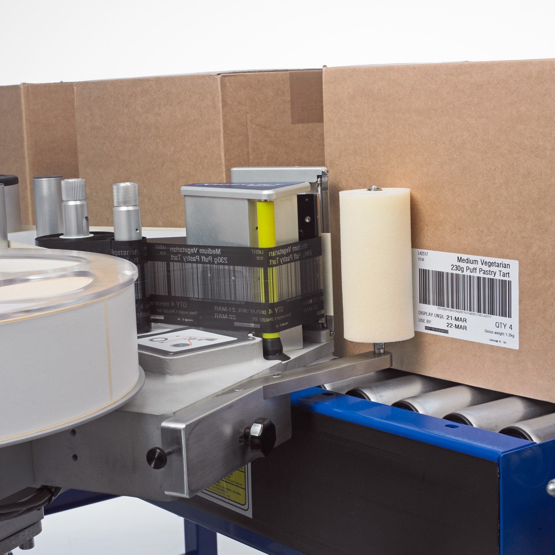 Print and Apply Labelling Machines