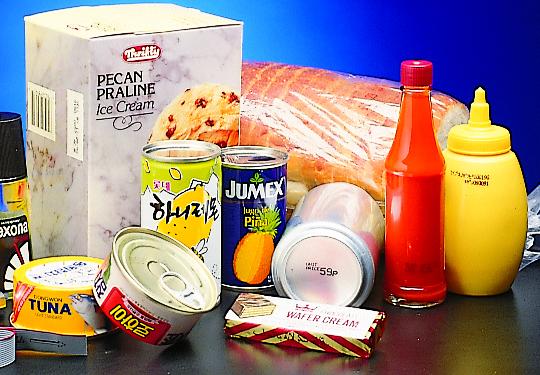 sistemi di etichettatura per alimenti