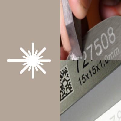 Barcodrucker mit Laser