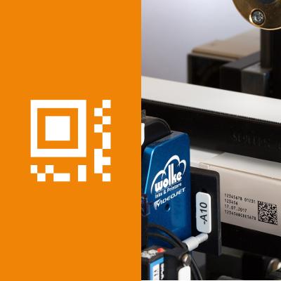 Barcode Drucker mit Thermal Inkjet