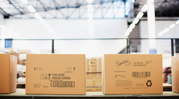 Impresión de cajas de cartón para trazabilidad industrial