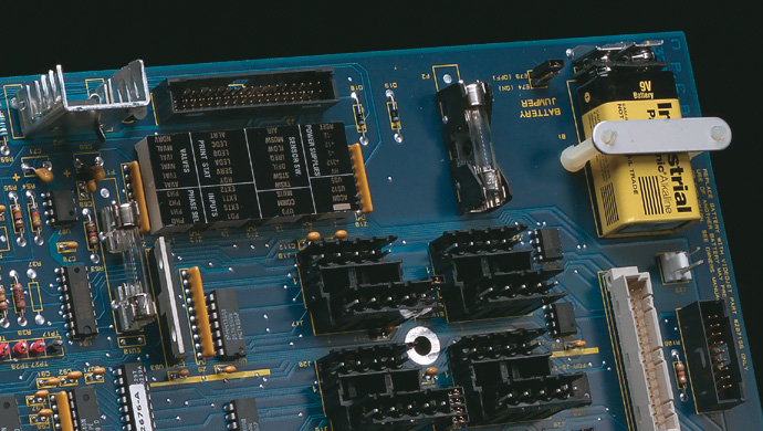 Marking on Electronic component and circuit board