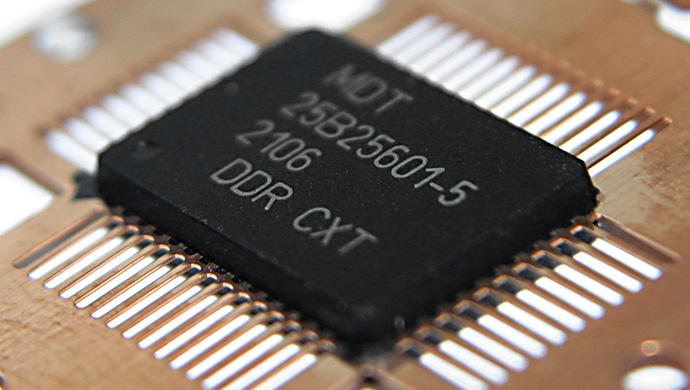 Marking on electronic component