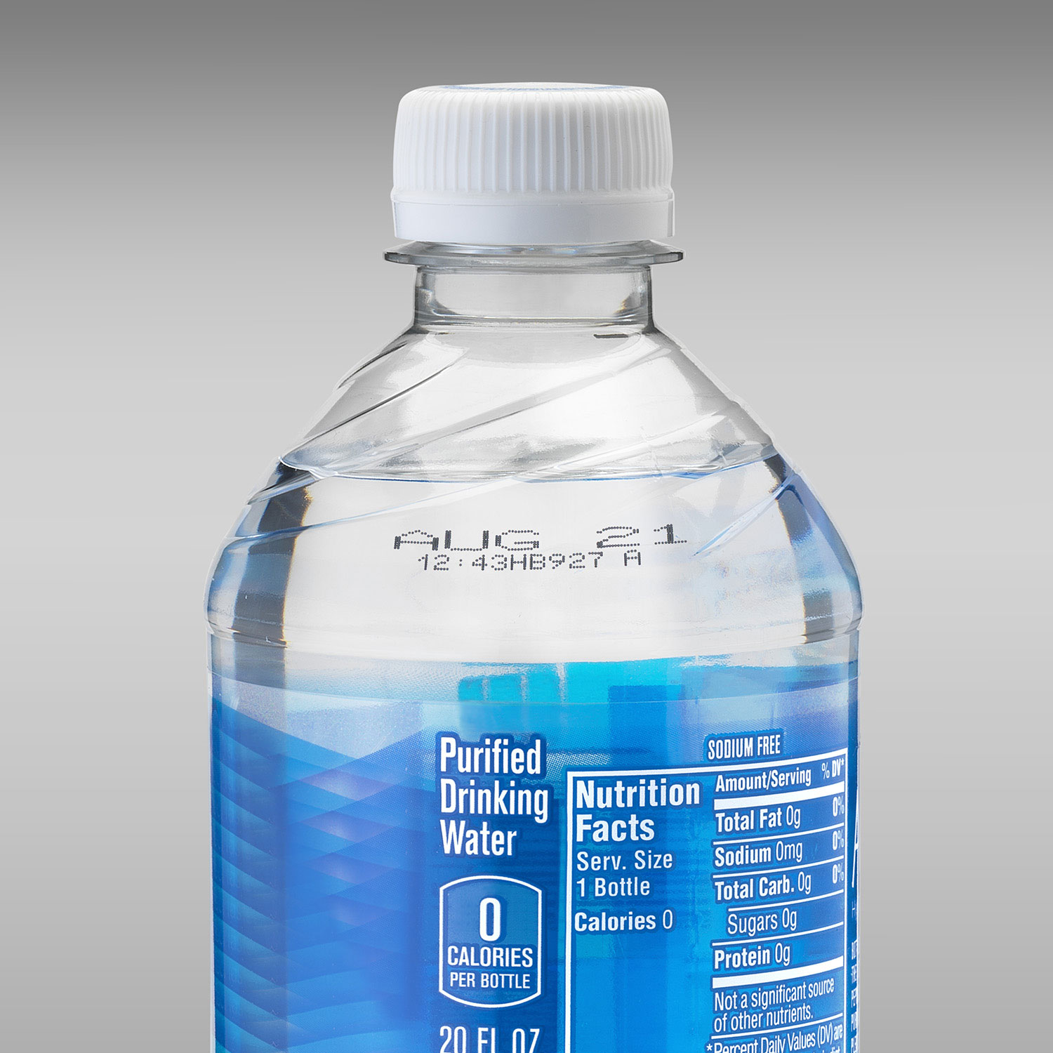Coding date on PET bottle, Inkjet printing on plastic bottle
