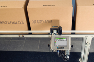 Крупносимвольный принтер маркировки вторичной упаковки Videojet 2120