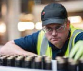 Контроль качества маркировки на заводе Baileys