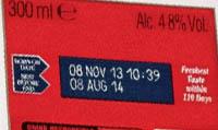 маркировка вторичной упаковки лазерным способом