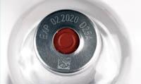 маркировка YAG лазером возможна на неокрашенном металле