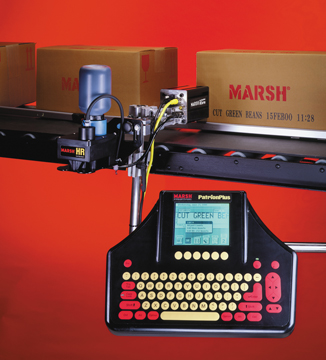 marsh large character printer