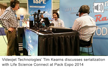 Tim Kearn's Radio Interview at Pack Expo 2014