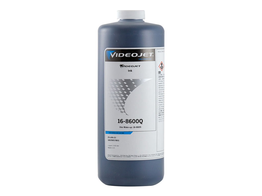 16-8600 Videojet Excel Series ink