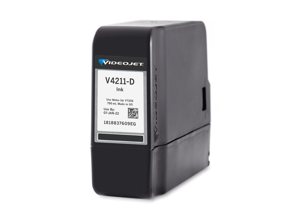 V4211-D Videojet 1580 and 1860 Ink
