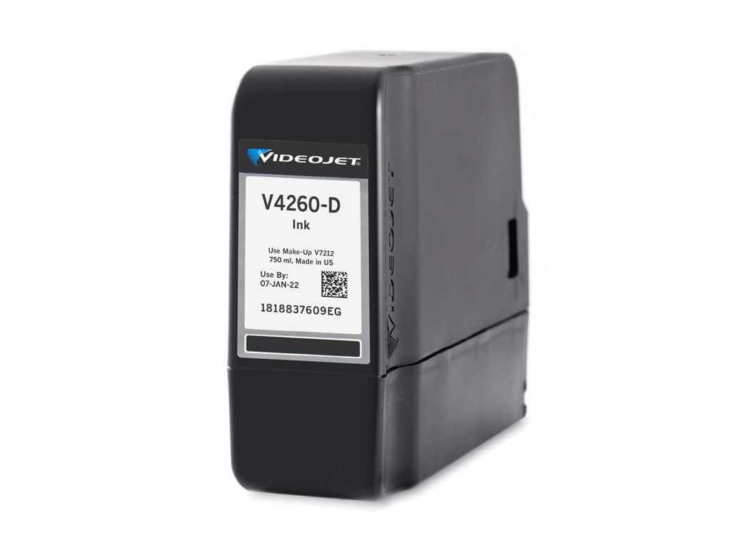 V4260-D Videojet 1580 and 1860 Ink